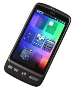 HTC Desire homescreens