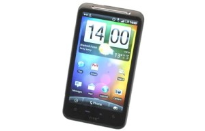 HTC Desire HD front angle