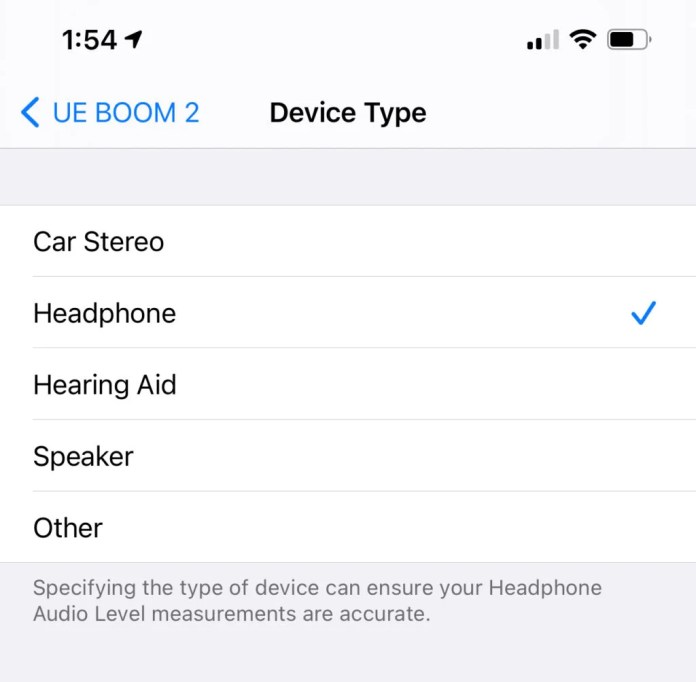 iOS 14.4 Bluetooth
