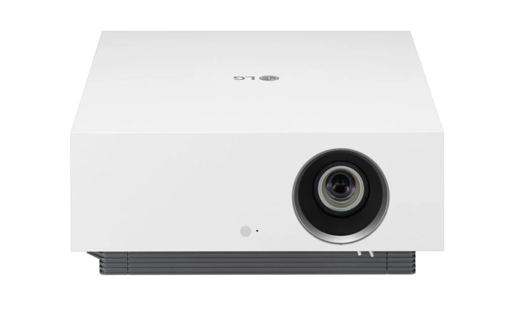 LG CineBeam 4K product LG's latest 4K laser projector brings the cinema to you, with light detecting tech