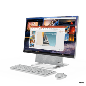 Lenovo's Yoga AIO 7 is a desktop PC with a rotating display