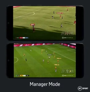 BT Sport Manager Mode