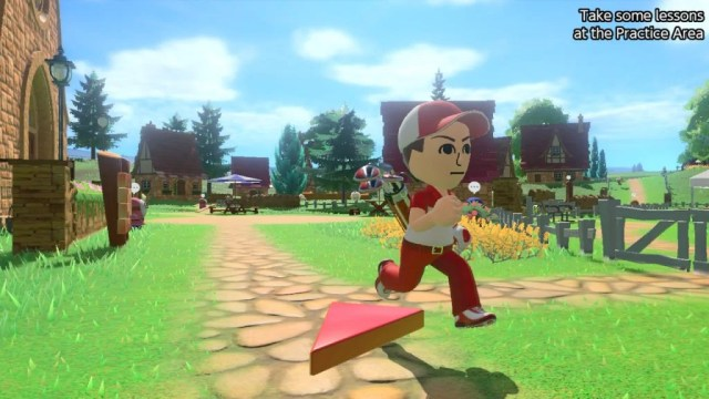 A screenshot from from the Mario Golf: Super Rush story mode