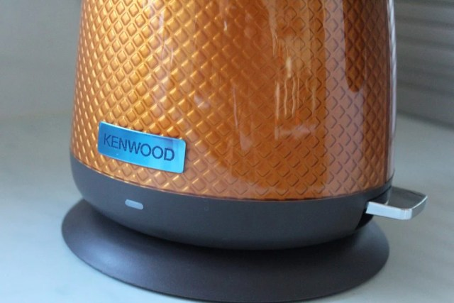 Kenwood Mesmerine 1.6L Kettle textured side close up