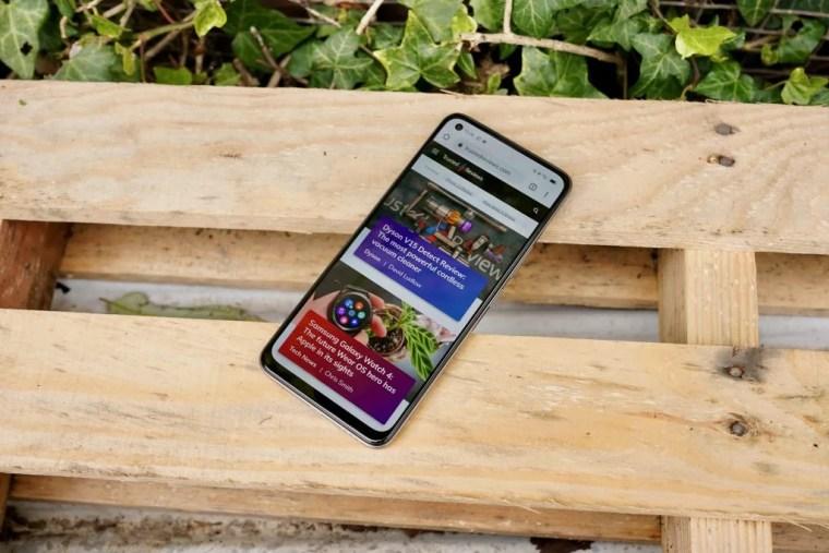 Realme 8 homescreen trusted reviews