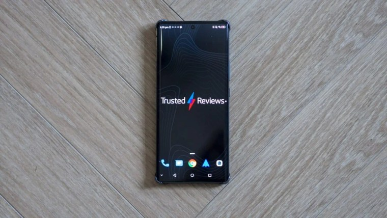 ZTE Axon 30 Ultra front of the phone