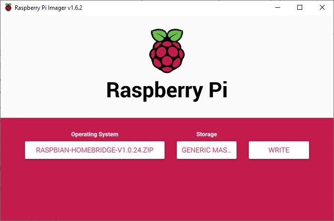 Raspberry Pi imaging software