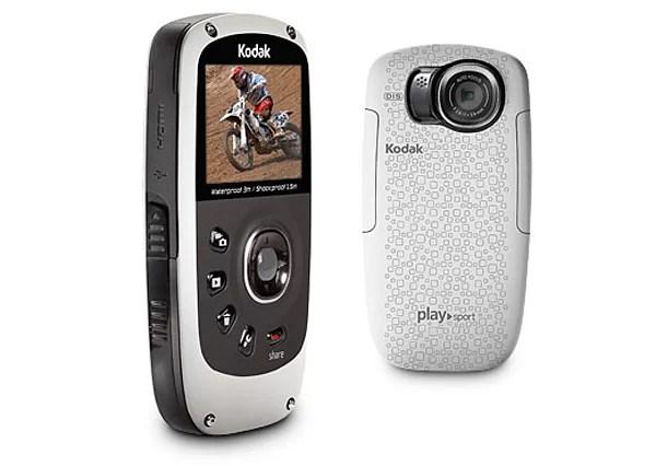 Kodak Playsport Zx5 - слева и сзади