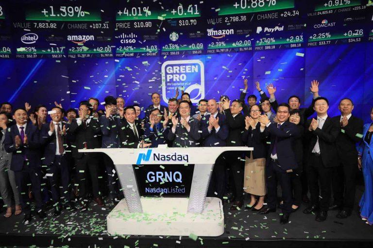 Greenpro Capital Nasdaq listing