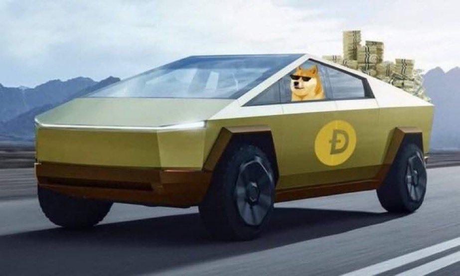 Doge Tesla meme