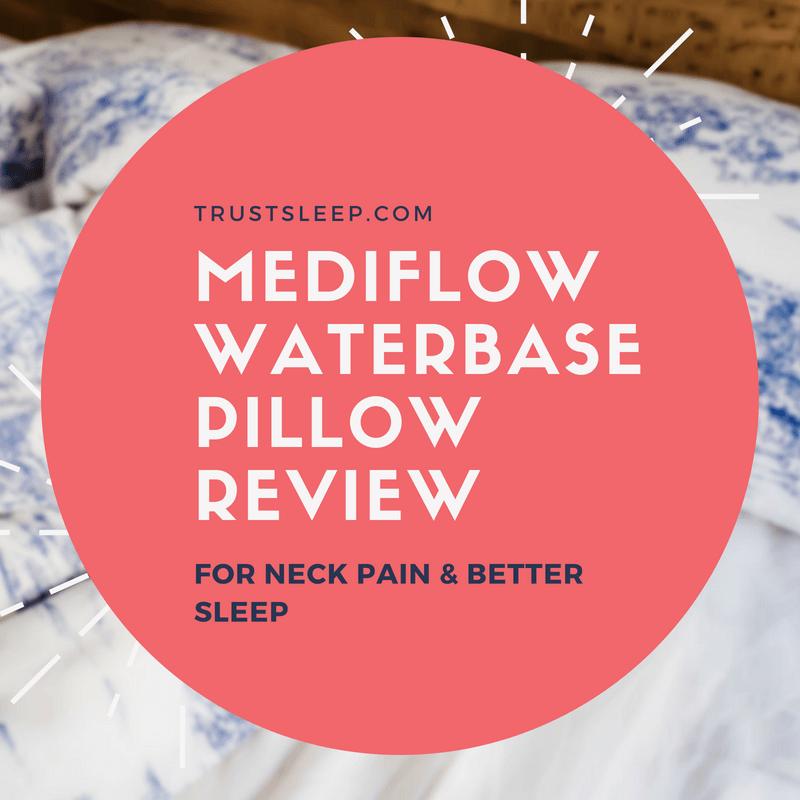 mediflow waterbase pillow for neck pain