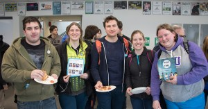 Hundreds of Students Attend Pizza and Politics