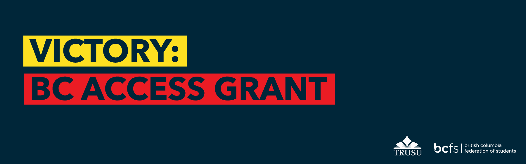 Victory BC Access Grant