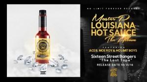 """MASTER P NEW ALBUM """"LOUISIANA HOT SAUCE"""" Album Cover Art"""