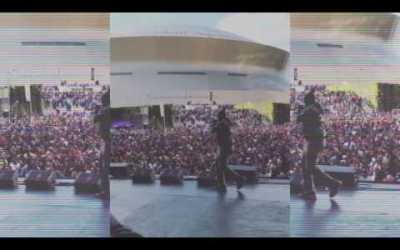MASTER P ROMEO and CYMPHONIQUE ROCK NEW ORLEANS FAN FEST I HEART Q93