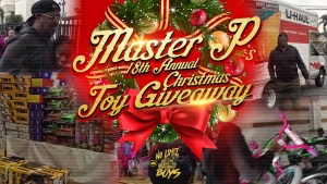 Master P 18th Annual Toy Giveaway Christmas Event