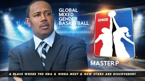 PERCY MILLER AKA MASTER P HAS BEEN NAMED PRESIDENT OF GMGB, THE GLOBAL MIXED GENDER BASKETBALL PROFESSIONAL LEAGUE