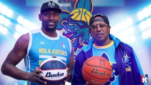 MASTER P AND THE NEW ORLEANS GATORS SIGN  METTA WORLD PEACE FORMERLY KNOWN AS RON ARTEST