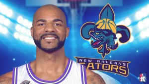 MASTER P AND THE NEW ORLEANS GATORS SIGN GOLD MEDALIST  AND TWO-TIME ALL STAR CARLOS BOOZER