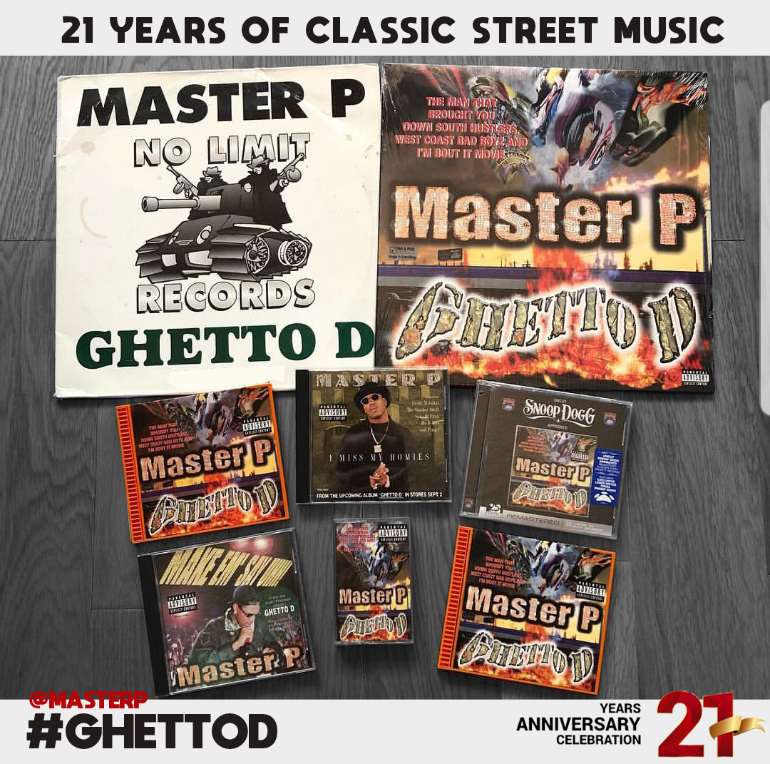 Master P and No Limit Celebrate the 21st Anniversary of Ghetto D