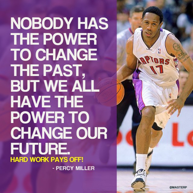 Master P says Nobody has the power to change the past……