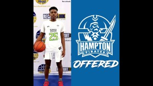 MERCY MILLER 6'4 HIGH SCHOOL FRESHMAN SHOOTING GUARD GETS OFFER TO HAMPTON UNIVERSITY
