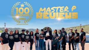 PERCY MASTER P MILLER CELEBRATES HIS 100TH EPISODE