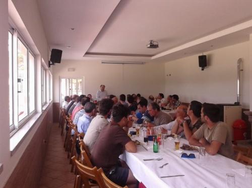 4º Convívio Nacional de Pescadores de Trutas - Almoço - Barragem do Caldeirão
