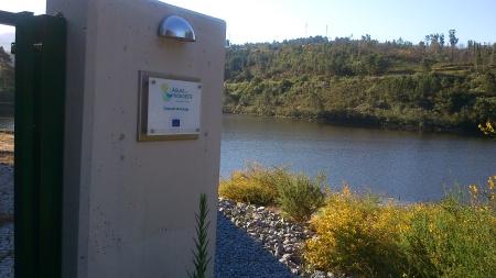 Captação de água Barragem de Touvedo