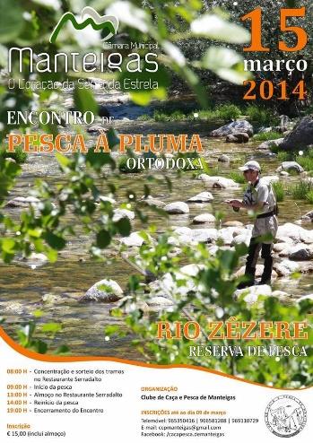 Encontro de pesca à pluma ortodoxa - 15 de Março 2014 - Rio Zêzere