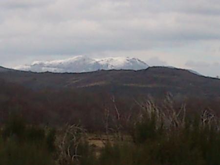 Neve nos picos do Barroso - Montalegre Fevereiro 2015