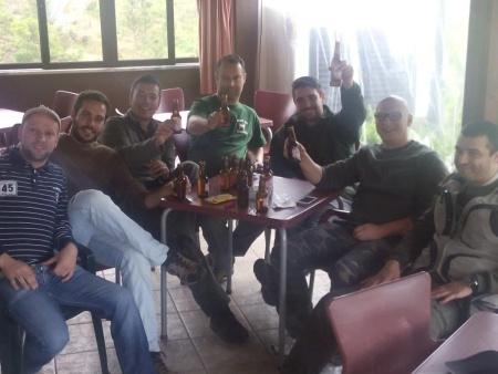 Preparativos para o almoço - 5º Convívio Nacional de Pescadores de trutas