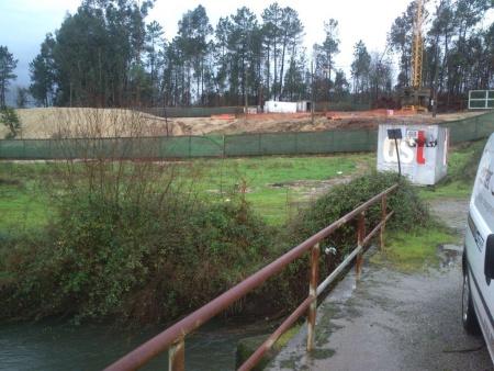 Rio Neiva construção de ETAR 2