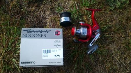 Shimano Catana 3000SFB caixa