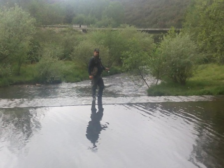 Torres às trutas no Rio Alva - 5º Convívio Nacional de Pescadores de Trutas