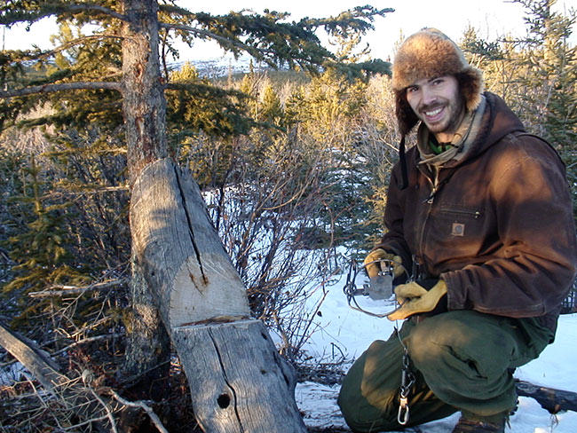 photos of trappers at work