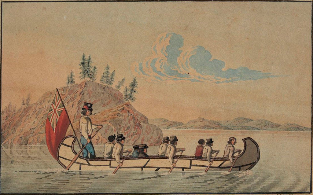 Canoes played a central role in Canada's fur trade history