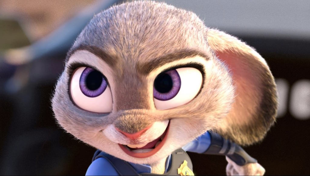 judy hopps in cartoon fur