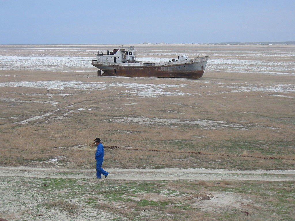Aral Sea destroyed