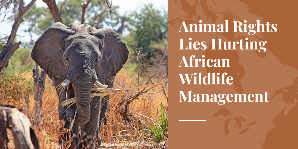 animal rights lies hurt wildlife management