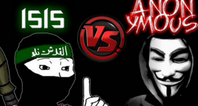 Anonymous Takes Down 5,500 ISIS Twitter Accounts, Publishes Names of ISIS Recruiters