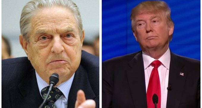 Revealed: George Soros Behind Albuquerque Trump Protests