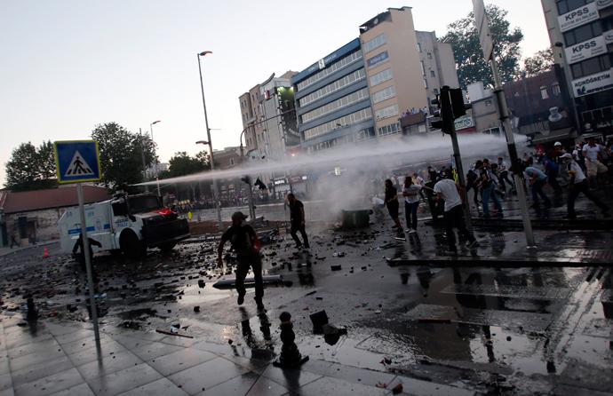 turkish police brutally ii