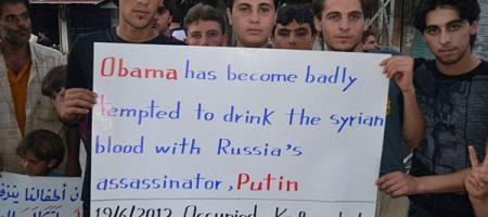syrians support assad