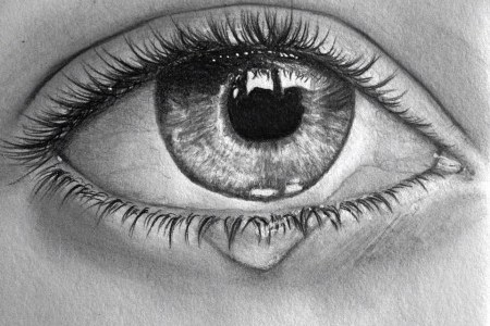 Looking At Tears Under A Microscope Reveals An Interesting Fact.