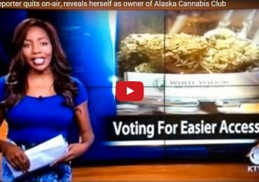 """Journalist Resigns Live On Air to """"Run"""" a Cannabis Store"""