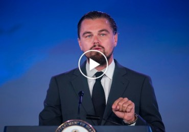 Leonardo DiCaprio, UN Messenger of Peace Focus On Climate Change.