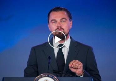Leonardo DiCaprio, UN Messenger of Peace Focus On Climate Change.