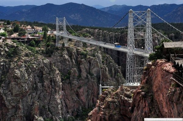 Bridge Royal Gorge, USA