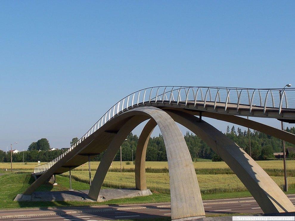 Leonardo da Vinci's bridge, Norway